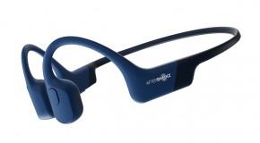 Bezdrátová sluchátka AfterShokz Aeropex, modrá