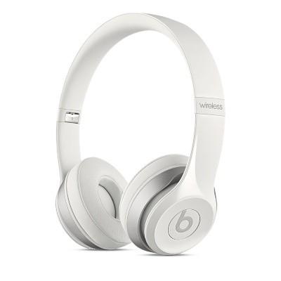 Bezdrátová sluchátka Beats Solo 2 Wireless, bílá - MHNH2ZM/A