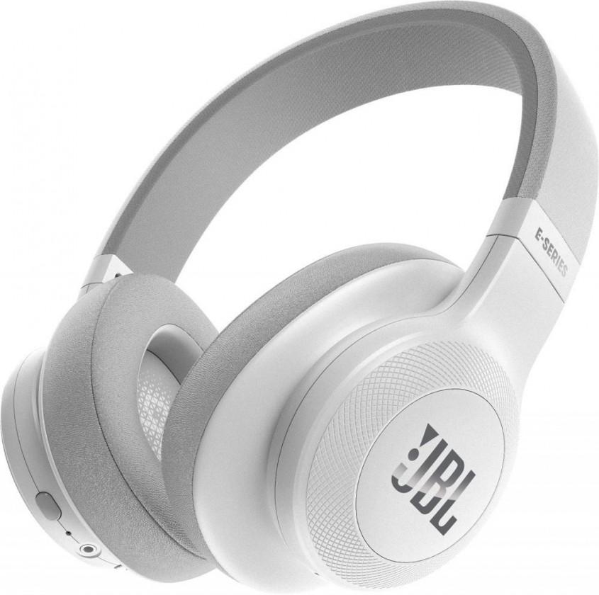 Bezdrátová sluchátka Bezdrátová sluchátka JBL E55BT bílá