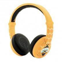Bezdrátová sluchátka BuddyPhones Wave Bee, žlutá