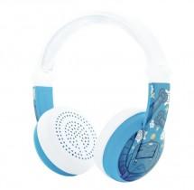 Bezdrátová sluchátka BuddyPhones Wave Robot, modrá