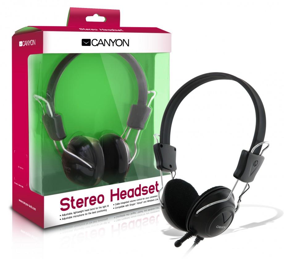 Bezdrátová sluchátka CANYON sluchátka CNR-HS08N