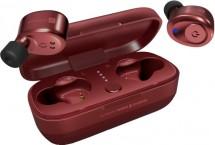 Bezdrátová sluchátka Connect IT CEP-9100-RD, červené OBAL POŠKOZE