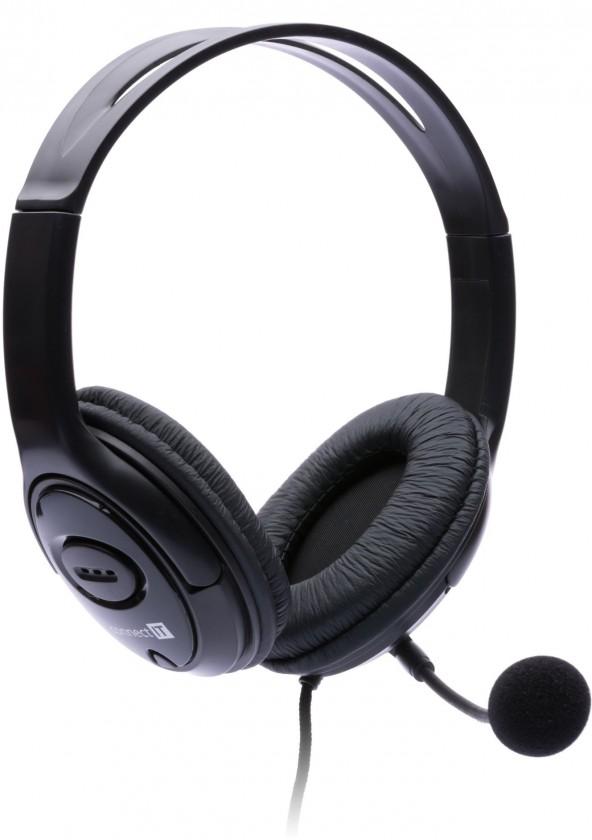 Bezdrátová sluchátka Connect IT CI-389, černé