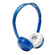 Bezdrátová sluchátka Denver BTH-150, modrá