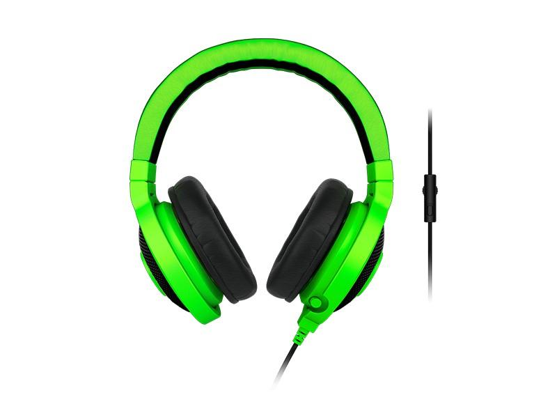 Bezdrátová sluchátka Gaming headset Razer Kraken Pro Green 2015