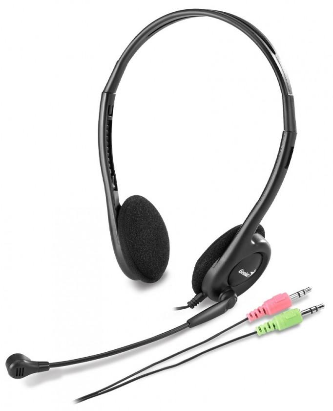 Bezdrátová sluchátka Genius headset - HS-200C