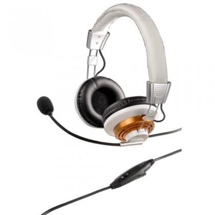 Bezdrátová sluchátka Hama PC Headset HS-320 OTÍK, bílá