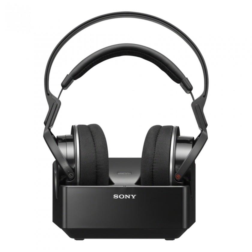 Bezdrátová sluchátka Hi-Fi sluchátka Sony MDR-RF855RK, černá