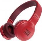 Bezdrátová sluchátka JBL E45BT červená ROZBALENO