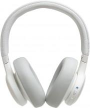 Bezdrátová sluchátka JBL LIVE 650BTNC, bílá