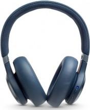 Bezdrátová sluchátka JBL LIVE 650BTNC, modrá