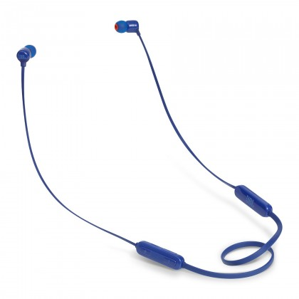Bezdrátová sluchátka jbl t110bt modrá JBL