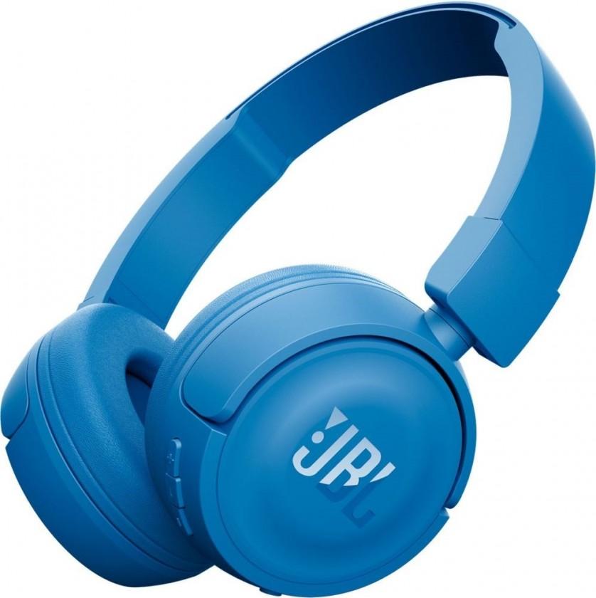 Bezdrátová Sluchátka JBL T450BT Bluetooth (JBL T450BT BLU) modrá