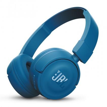 Bezdrátová sluchátka JBL T450BT Bluetooth modrá
