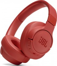 Bezdrátová sluchátka JBL Tune 700BT, červená
