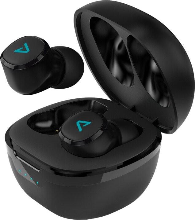Bezdrátová sluchátka Lamax Dots 2 True Wireless sluchátka až 36h USB-C Bluetooth 5 OBA