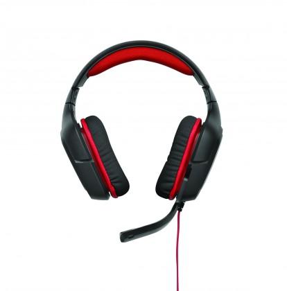 Bezdrátová sluchátka Logitech Gaming Headset G230, red