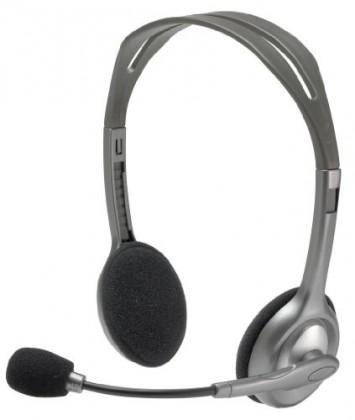 Bezdrátová sluchátka Logitech Stereo Headset H110, 3,5 mm jack