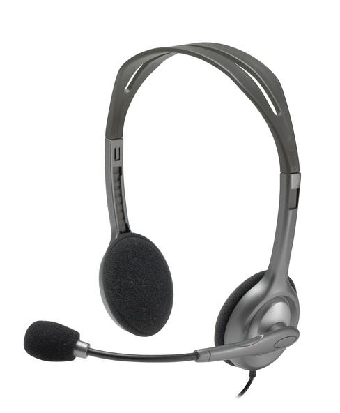 Bezdrátová sluchátka Logitech Stereo Headset H111