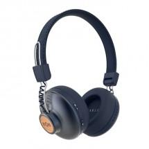 Bezdrátová sluchátka Marley Positive Vibration, modrá