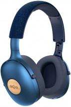 Bezdrátová sluchátka Marley Positive Vibration XL, modrá