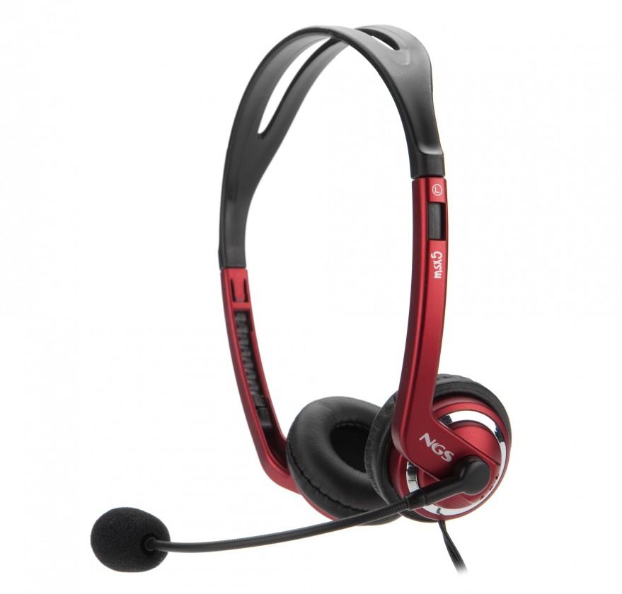 Bezdrátová sluchátka NGS headset MSX5
