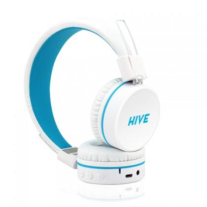 Bezdrátová sluchátka Niceboy HIVE white
