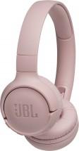 Bezdrátová sluchátka přes hlavu JBL Tune 500BT růžová