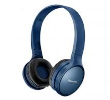 Bezdrátová sluchátka přes hlavu Panasonic RP-HF410BE-A, modrá,ROZ