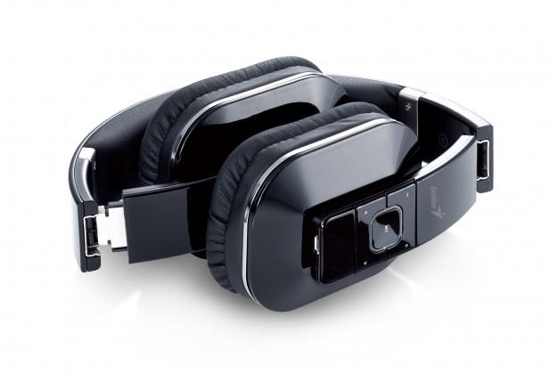 Bezdrátová Sluchátka s mik GENIUS HS-970BT, černé, Bluetooth