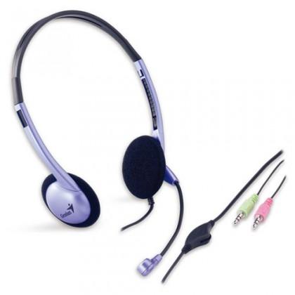 Bezdrátová sluchátka Sluchátka s mik.Genius HS-02B