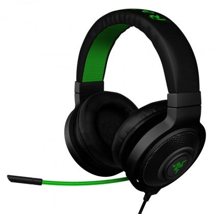 Bezdrátová sluchátka Sluchátka s mikrofonem Razer Kraken Pro Black, černá