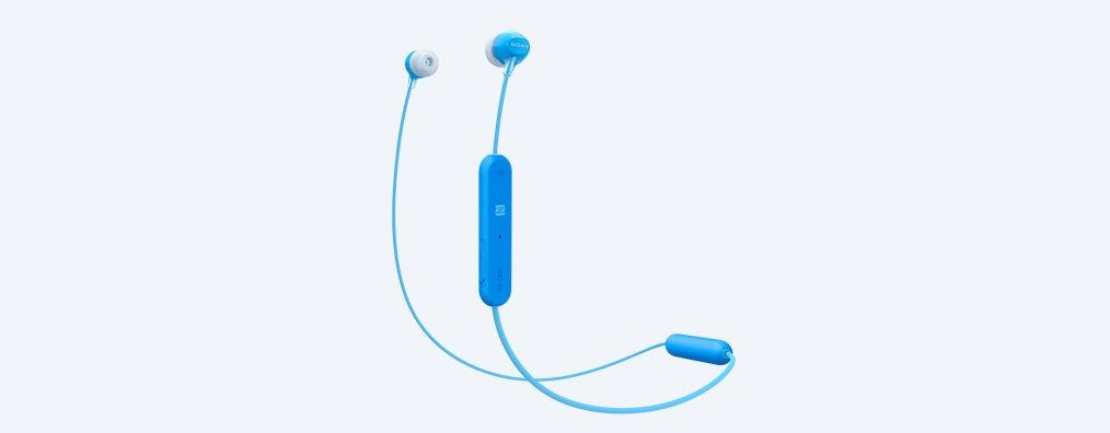 Bezdrátová sluchátka Sony WI-C300