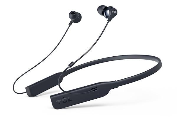 Bezdrátová sluchátka TCL ELIT200NCBL BT sluchátka do uší, mikrofon, BT 4.2, modrá