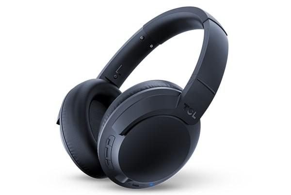 Bezdrátová sluchátka TCL ELIT400BTBL BT sluchátka náhlavní, mikrofon, BT 5.0, modrá