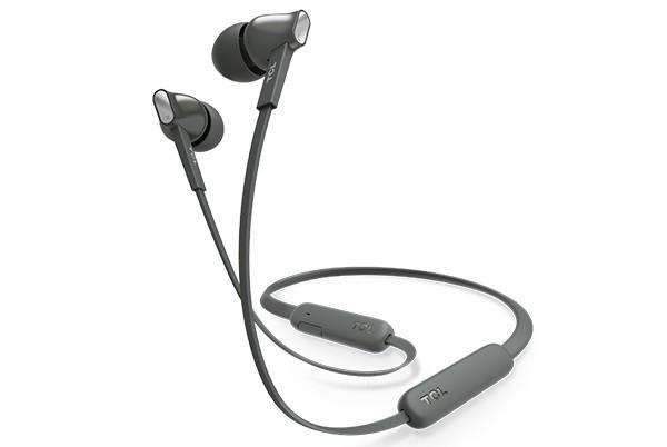 Bezdrátová sluchátka TCL MTRO100BTBK BT sluchátka do uší, mikrofon, BT 5.0, černá