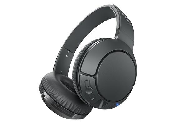 Bezdrátová sluchátka TCL MTRO200BTBK BT sluchátka náhlavní, mikrofon, BT 4.2, černá