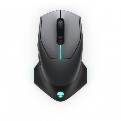 Bezdrátové myši Bezdrátová myš DELL Alienware AW610M, herní, 7 tlačítek, černá