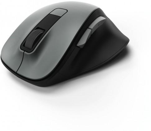 Bezdrátové myši Bezdrátová myš Hama MW 500, tichá, 6 tlačítek, šedá