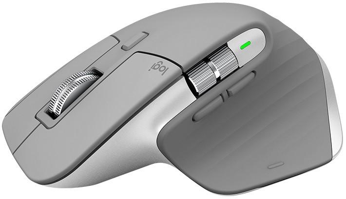 Bezdrátové myši Bezdrátová myš Logitech MX Master 3, profesionální, šedá