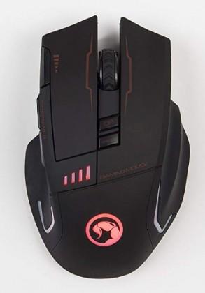 Bezdrátové myši Bezdrátová myš Marvo M720W, 4800DPI, 8 tlačítek, černá