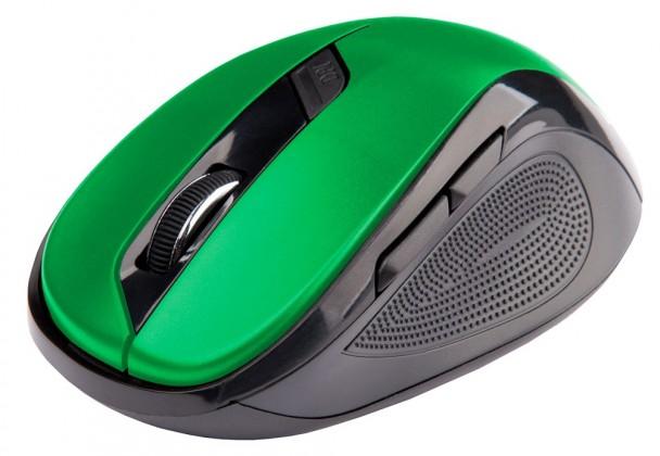 Bezdrátové myši C-Tech WLM-02, černo-zelená WLM-02G