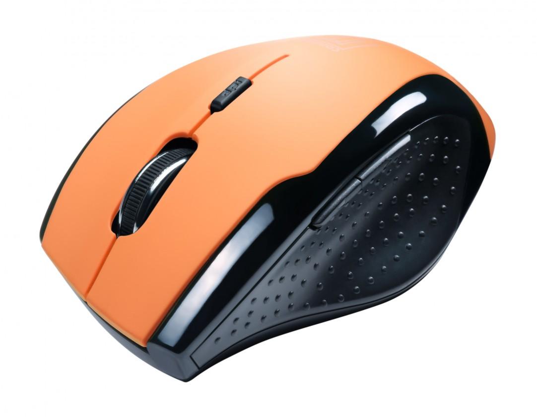 Bezdrátové myši Connect IT CI-157, oranžová