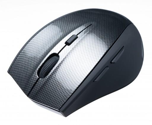 Bezdrátové myši Connect IT CI-186, čená-stříbrná