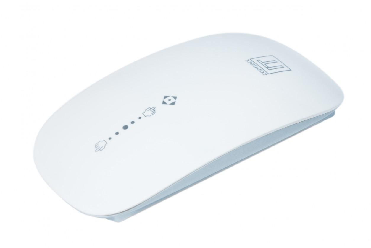 Bezdrátové myši Connect IT CI-75, bílá