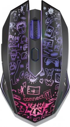 Bezdrátové myši CONNECT IT CMO3510 Doodle II, černá CMO3510BK