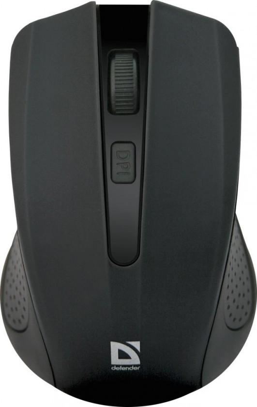 Bezdrátové myši Defender Accura MM-935 černá 52935