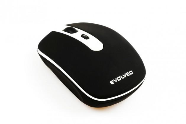 Bezdrátové myši EVOLVEO WM-408B tichá bezdrátová myš