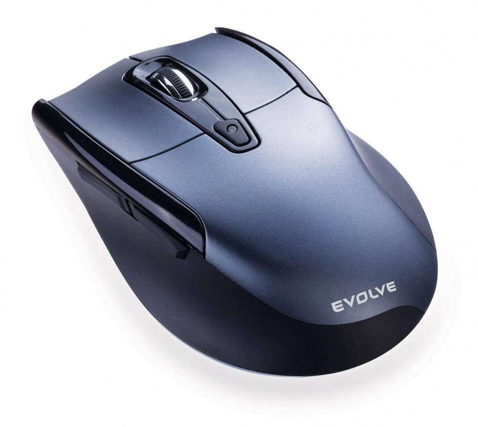 Bezdrátové myši EVOLVEO WM610G bezdrátová myš, šedo-černá